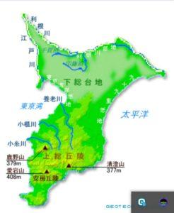 chiba-topographic-map