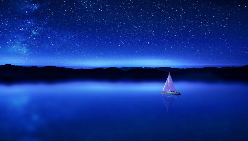 night-blue-sky